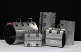 Colliers de raccordement de tubes ; avec résistance à la traction ou flexibilité axiale