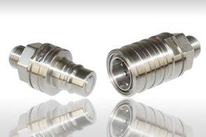 Connecteur Eau, Air comprimé, Fuel, Huiles hydrauliques / Graisse